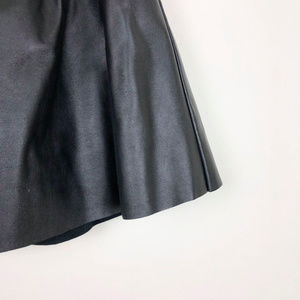 Forever 21 Skirts - Forever 21 Black Faux Leather A Line Skirt